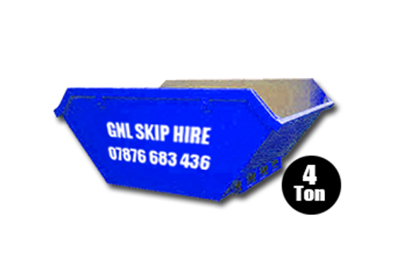 Medium 4 Ton Skips for hire in Yorkshire